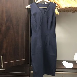Navy Blue Elie Tahari Sheath Dress size 2